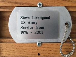 American Legion Memorial Building Dog Tag Memorial