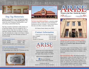 ARISE brochure